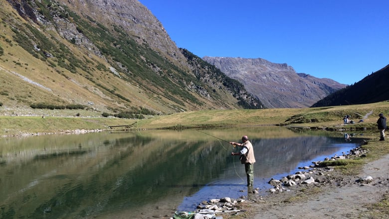 Fishing in Ischgl