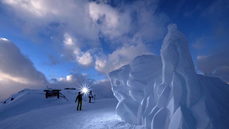 Ischgl is celebrating 25 years of art in the snow