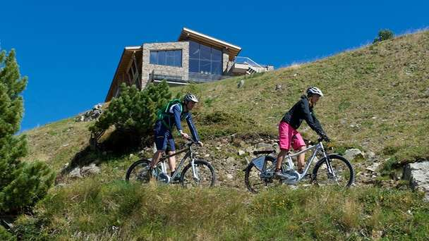 5 nights mountainbike package